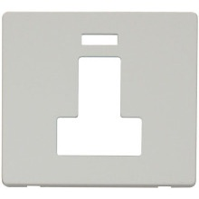Click SCP252PW Switched Connection Unit With Neon Cover Plate - White