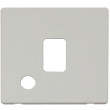 Click SCP322PW 20A DP Switch With Flex Outlet Cover Plate - White