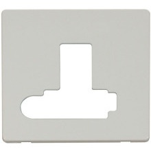 Click SCP351PW Switched Connection Unit With Flex Outlet (Lockable) Cover Plate - White
