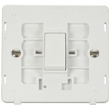 Click SIN011PW 10AX 1 Gang 2 Way Switch Insert - White