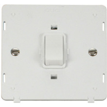 Click SIN622PW 20A 1 Gang DP Switch Insert - White