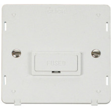 Click SIN650PW 13A Fused Connection Unit Insert - White