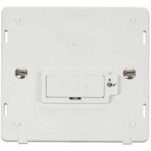 Click SIN850PW 13A Fused Connection Unit  (Lockable) Insert - White