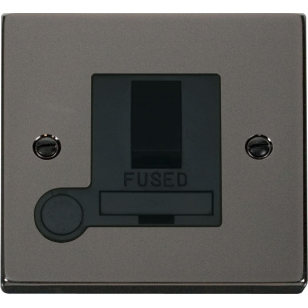 Click VPBN051BK 13A Fused Switched Connection Unit With Flex Outlet