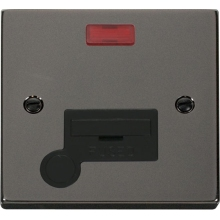 Click VPBN053BK 13A Fused Connection Unit With Flex Outlet & Neon