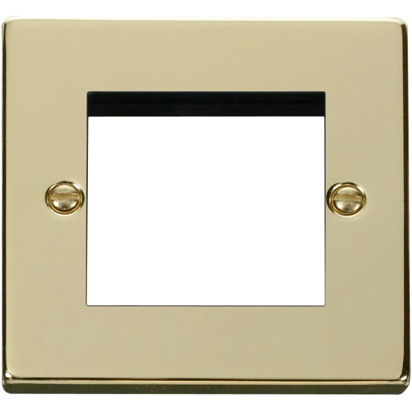 Click VPBR311 Single Plate (Twin Media Module Aperture)