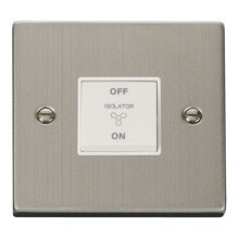 Click VPSS020WH 10A 1 Gang 3 Pole Fan Isolation Switch