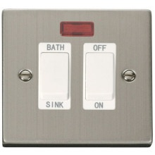 Click VPSS024WH 20A DP Sink/Bath Switch