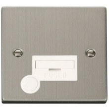 Click VPSS050WH 13A Fused Connection Unit With Flex Outlet