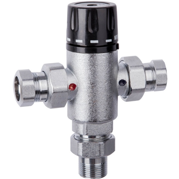Compact Commercial Therm Mixing Valves 15mm