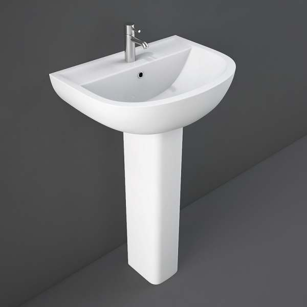 Compact Large Full Pedestal for 46-55cm Basin