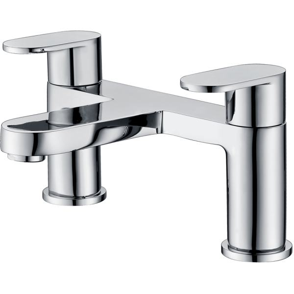 Compact Round Bath Filler Tap