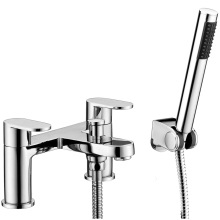 Compact Round Bath Shower Mixer