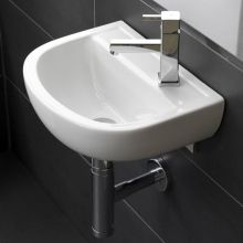 Compact Special Need Basin 50cm 2Tap Hole