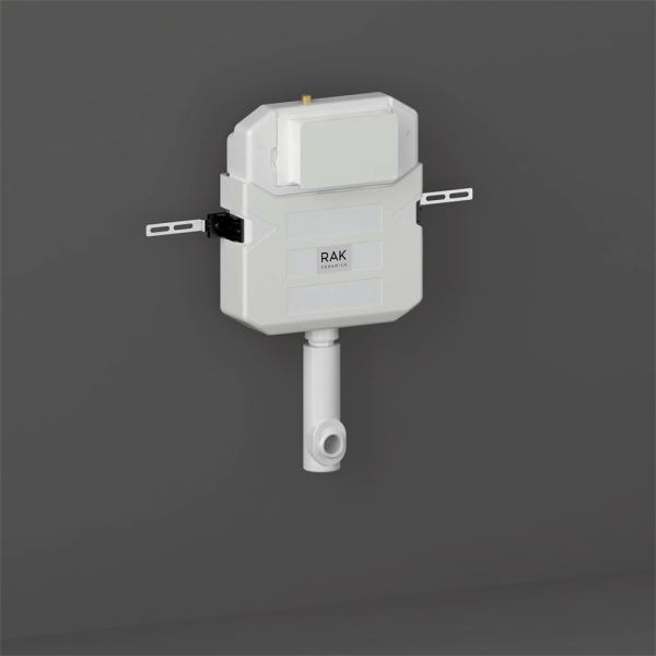 Concealed Cistern with Cable Operation Push Button Inlet