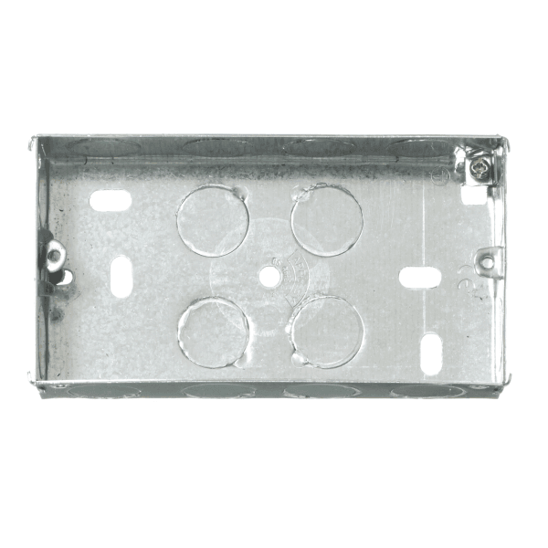 contactum metal flush back box 2g 35mm 02801777L contactum metal flush back box 2g 35mm contact fusebox elavon at n-0.co