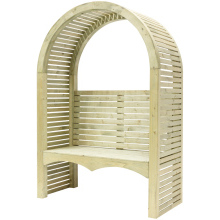 Contemporary Wooden Arbour 2200x1500x700mm