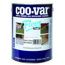 Coo-Var 5ltr Floor Paint Dark Grey
