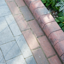 Corner Drivestyle Kerb Splay Edge Various Colours