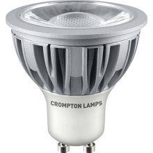 Crompton LGU105WWCOB 5W GU10 COB DIMMABLE LED WW