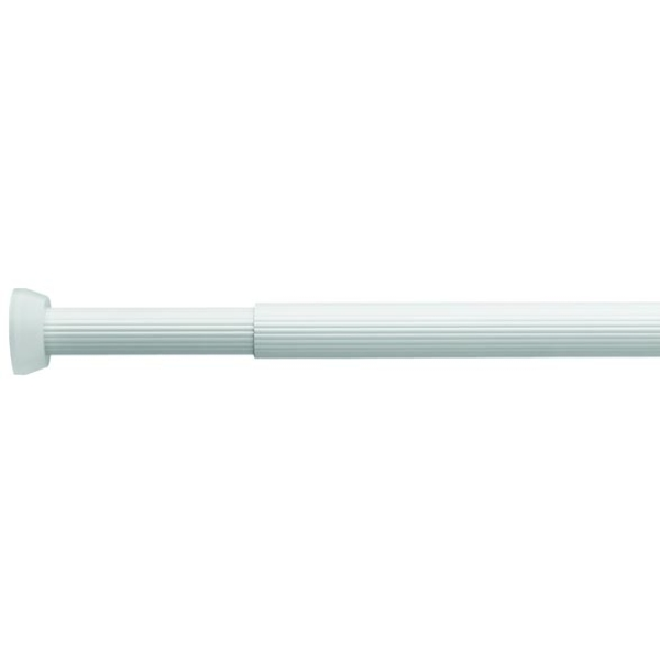 Croydex 1100 x 1950mm Heavy Duty Telescopic Tension Rod White