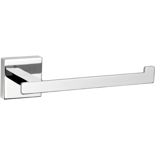 Croydex 54 x 190 x 66mm Cheadle Toilet Roll Holder Chrome