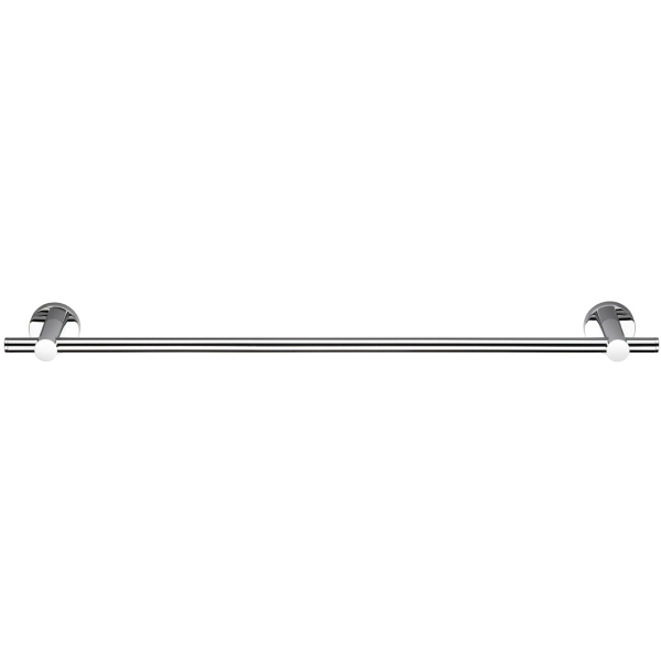 Croydex 54 x 701 x 82mm Epsom Toilet Rail Chrome