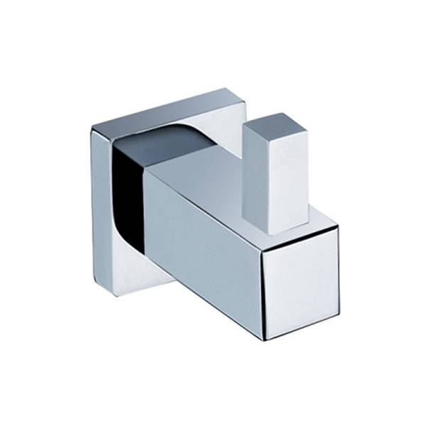 Cubis Robe Hook Silver