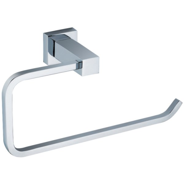Cubis Toilet Roll Holder Silver