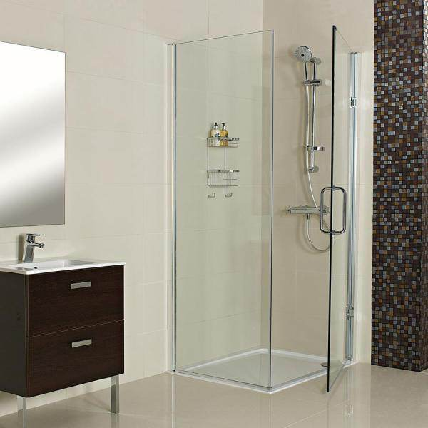 Decem Hinged Door for Corner 900mm Straight