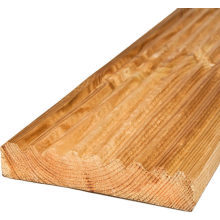 Deck Board Smooth Grooved Scottish Profile Treated