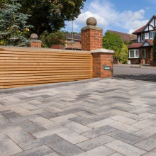 Delta Block Paving Pack Various Layouts and Colours