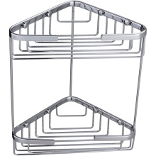 Double Corner Basket Chrome