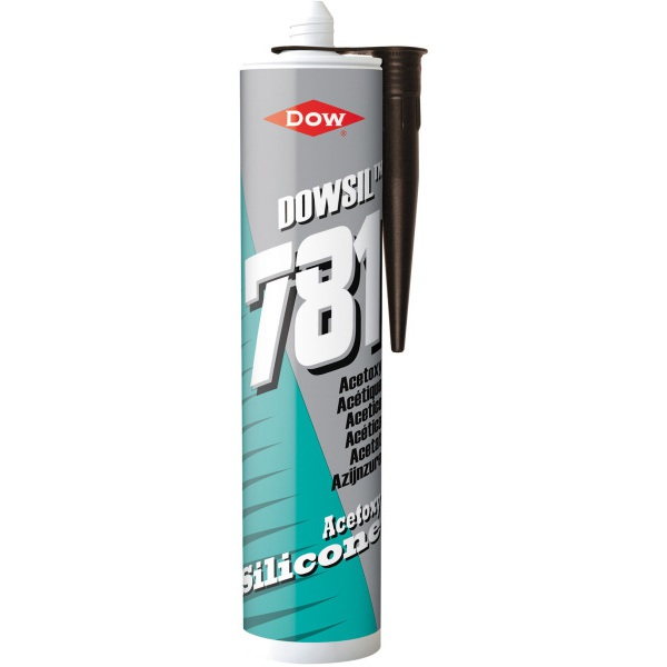 Dow Corning 310ml Silicone Sealant 781 Brown