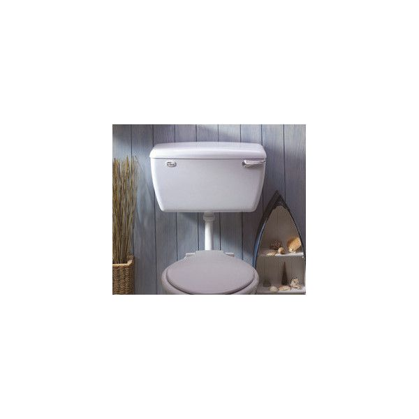 Dudley Tri-Shell White Low Level Cistern SISO