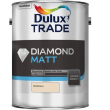 Dulux Trade Diamond Matt Magnolia 5ltr