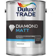 Dulux Trade Diamond Matt Medium Base 5ltr