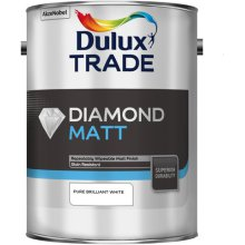 Dulux Trade Diamond Matt Pure Brilliant White 5ltr