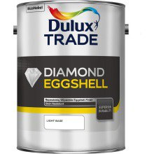 Dulux Trade Diamond Q/D Eggshell Mixed L/Base 5ltr
