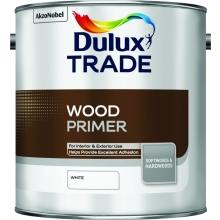 Dulux Trade Q/Dry Wood Primer Undercoat White 2.5L