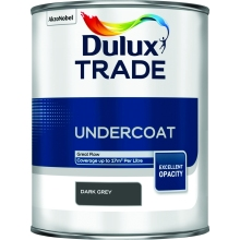 Dulux Trade Undercoat Dark Grey 1ltr