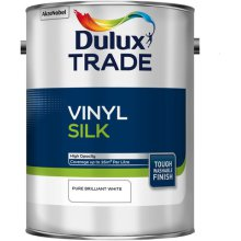 Dulux Trade V/Silk Pure Brilliant White 5ltr