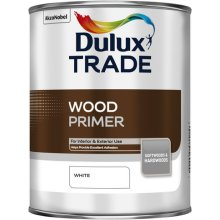 Dulux Trade Wood Primer White 1ltr