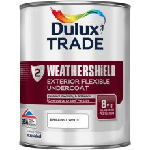Dulux Trade W/S Ext.Undercoat Brilliant White 1ltr