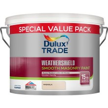 Dulux Trade W/S Masonry Smooth Magnolia 7.5ltr