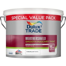 Dulux Trade W/S Masonry Smooth PBW 7.5ltr