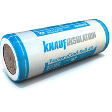 Earthwool FactoryClad 40 Insulation 100mm