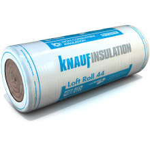 Earthwool Loft Roll 44 Insulation Combi-Cut 100mm