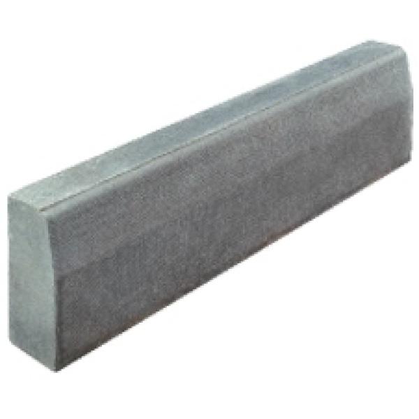 Flat Stone Edging: Eaton 125x255x915 Half Batter Kerb Quartz HB2