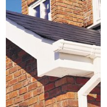 Eavemaster Gable Box White 450 x 350mm